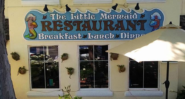 Little Mermaid Restaurant In Solvang Ca Jen S Bistro